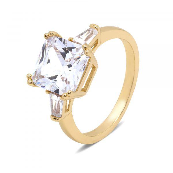 Gold Diamond Ring PLR0754-SLY